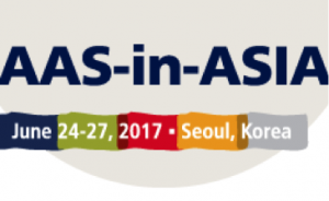 "AAS-in-Asia, Seoul, June 2017- ""Toward a Community of Dissent"""